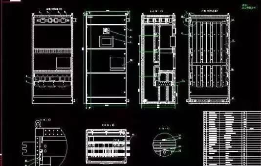 配电板的电路图分为一次原理图和二次原理图:一次