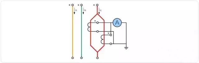 电流互感器接线图