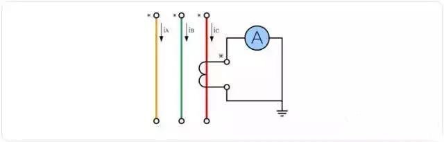 接线图 三相电流互感器能够及时准确了解三相负荷的