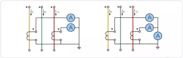 形式电流互感器接线图
